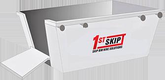 1st Skip - 2 cubic skip bin
